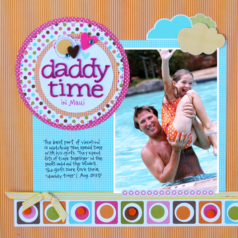 Daddy time small