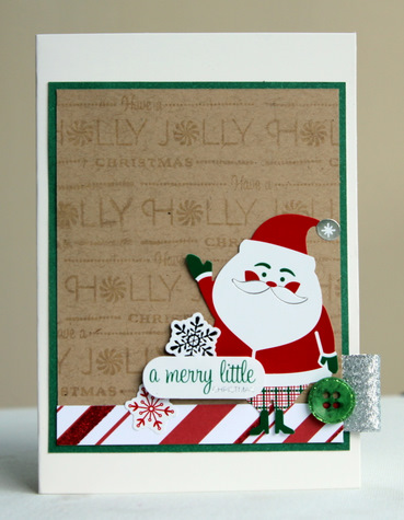 A merry little card