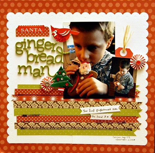November AC LO Gingerbread man