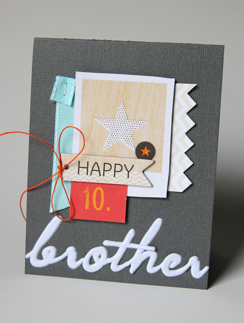 Happy10 Brother card 475 CindyT
