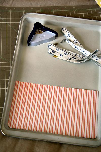 American Crafts Studio Blog Magnetic Board Tutorial By