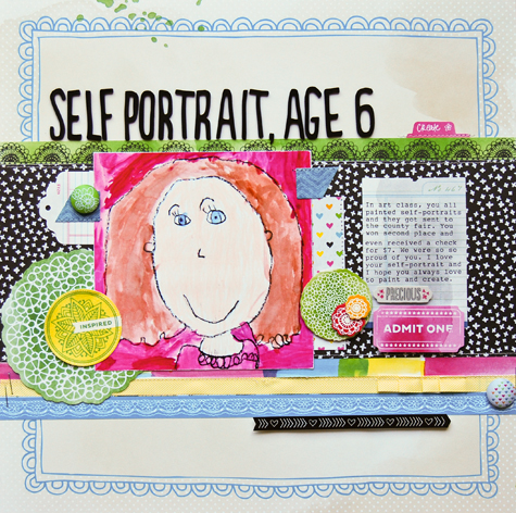 Selfportrait,age6