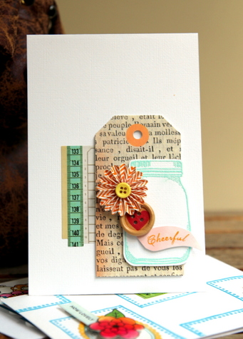 AC Card - Embossed Cheerful