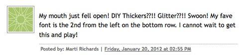 DIYThickers