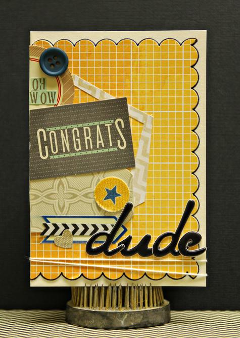 Congrats-card