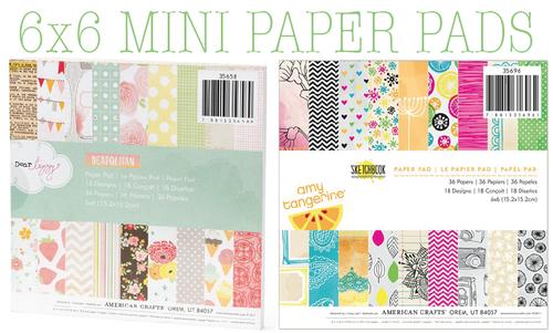 Mini paper pads
