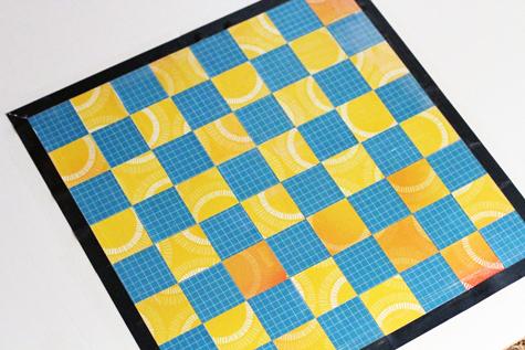 Paper Checker Pieces For The Checker Pieces