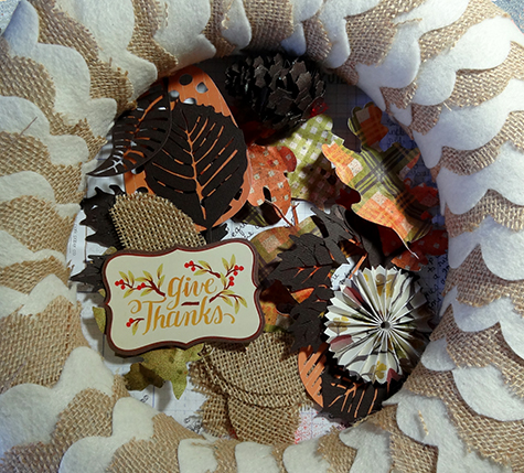 Fall wreath elements AC