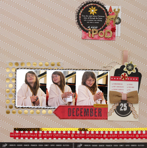 Christmas layout two small
