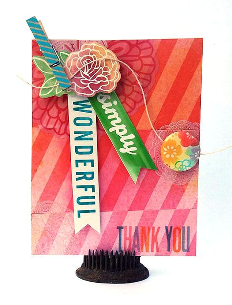 Simply Wonderful Card Heather Leopard AC