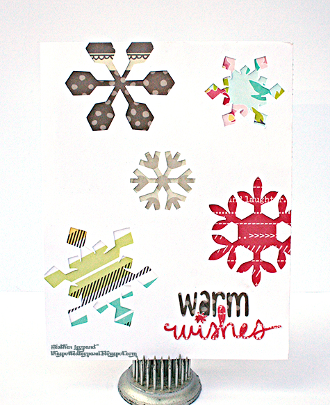 Warm Winter Wishes Card Heather Leopard AC
