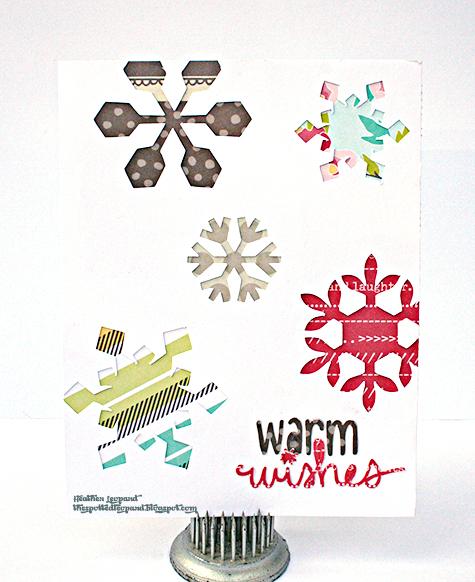 Warm Winter Wishes Card Heather Leopard AC