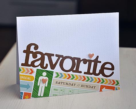 Favorite Card