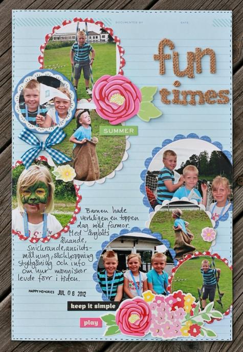 Fun times-carina Lindholm