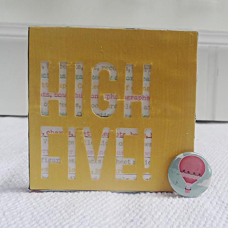 Heather Leopard Coasters High Five AC