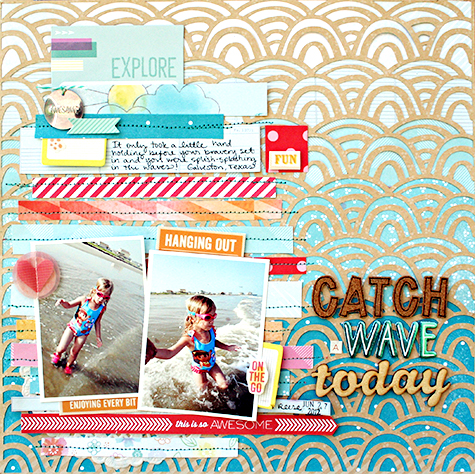 Catch a Wave Heather Leopard AC