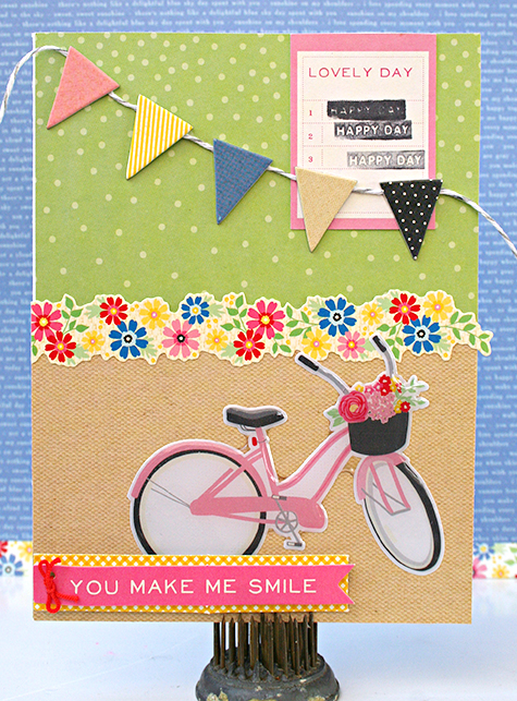 Happy Day Card by Heather Leopard AC