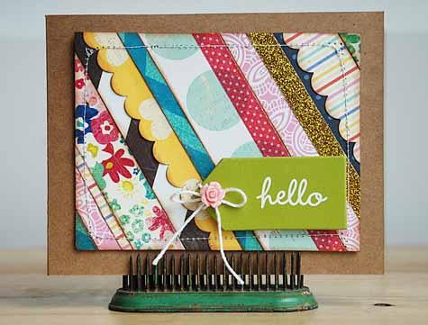 Becki Adams_Hello Card