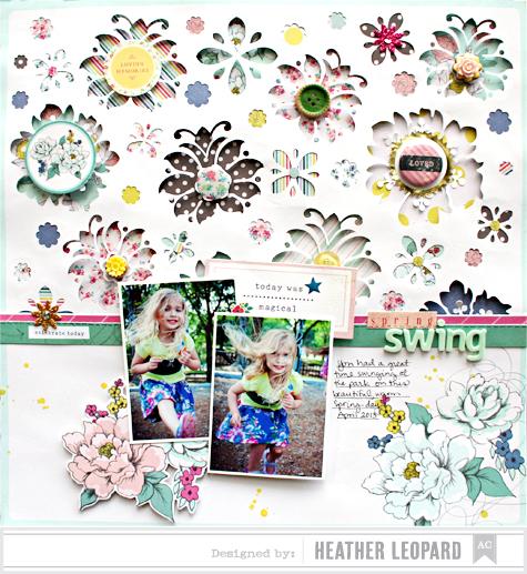 Spring Swing Heather Leopard AC