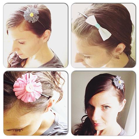 Alex Gadji - Headband collage