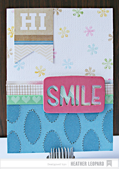Smile Card by Heather Leopard AC