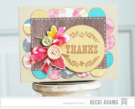Becki Adams_Thankful Card_American Crafts_Blog