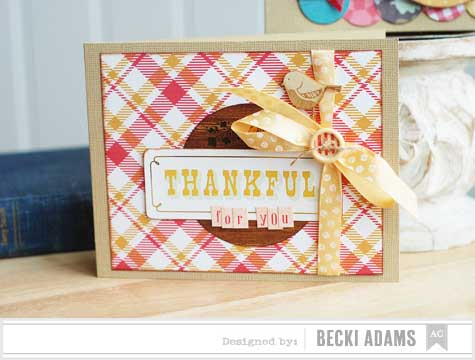 Becki Adams_Thankful for you card_American Crafts Blog
