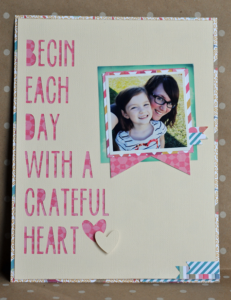 Grateful Heart- Guest Design