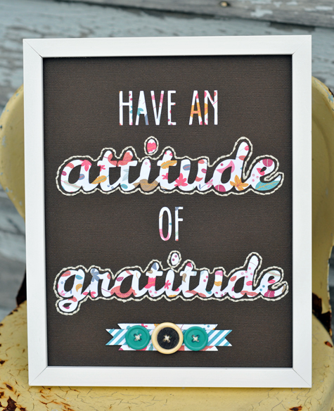 Gratitude Quote- Guest Designer