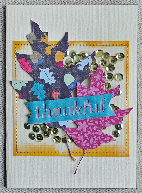 Thankful Card- Guest Designer