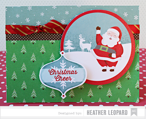 Christmas Cheer Card by Heather Leopard AC