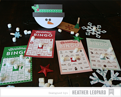 Snowman Bingo by Heather Leopard