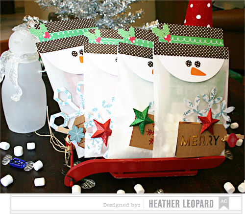 Snowman Bingo Packages by Heather Leopard AC