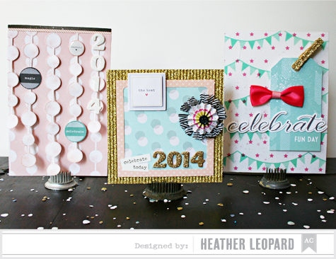 NYE Cards by Heather Leopard AC