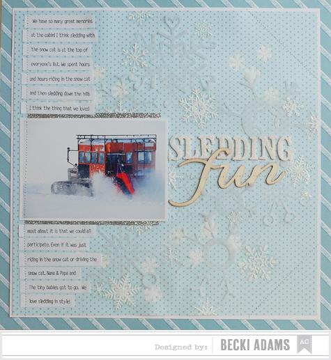 Becki Adams_Sledding Fun_American Crafts Blog
