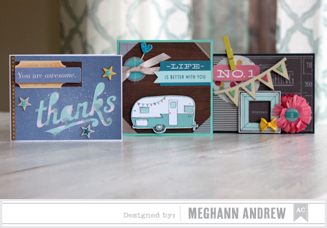 Paper Pad Cards x3