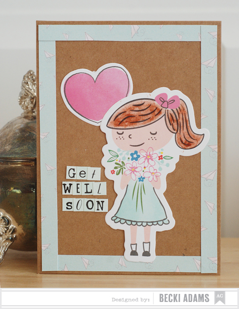 Becki Adams_Get Well Soon Vintage Card