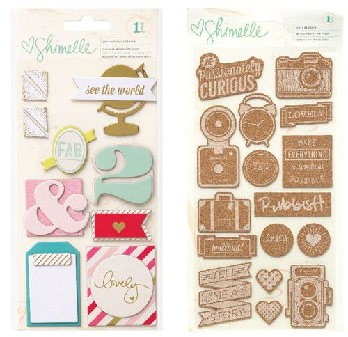 Shimelle-Stickers