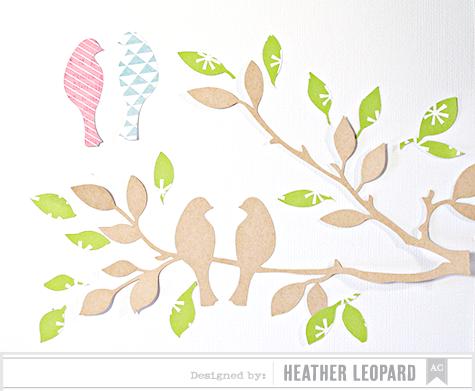 Tree limbs leaves