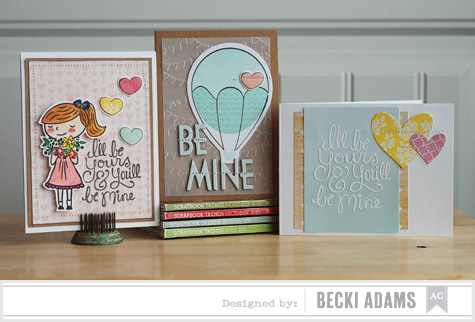 Becki Adams_Valentines Card Set_American Crafts