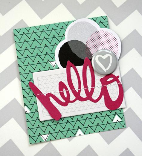 Jen Chesnick- Hello- American Crafts