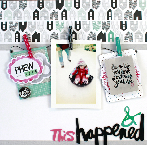 Jen Chesnick- And this Happened- American Crafts