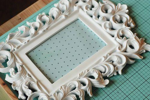 Becki Adams_Patterned Paper in Frame