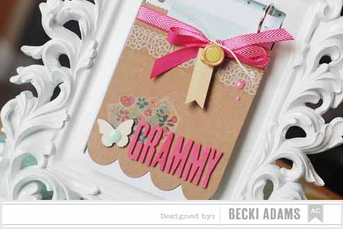 Becki Adams_Mother's Day Frame Album