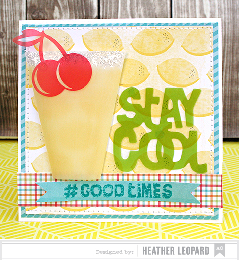Stay Cool Card by Heather Leopard AC