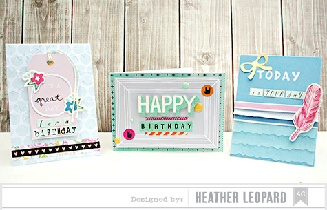 Birthday Cards by Heather Leopard AC