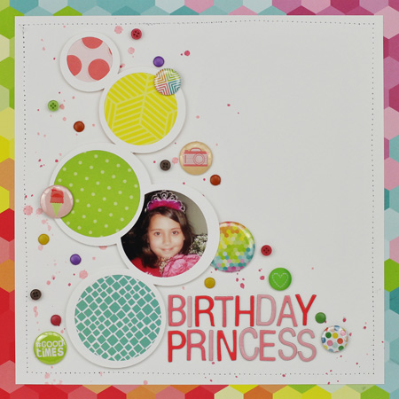 Birthday Princess Layout