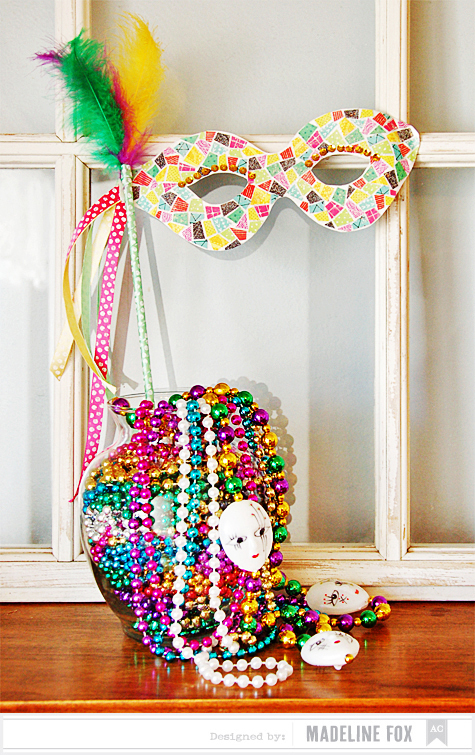 American crafts studio blog glitter mardi gras mask for Mardi gras masks crafts