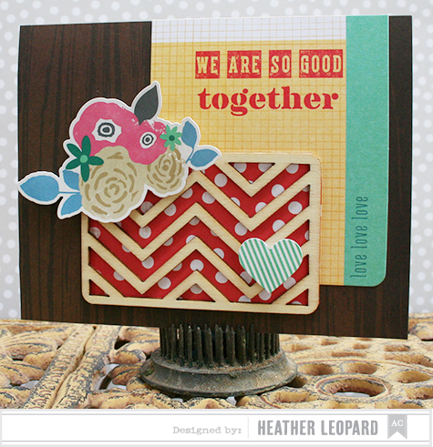 Good Together Card by Heather Leopard_AC Bits