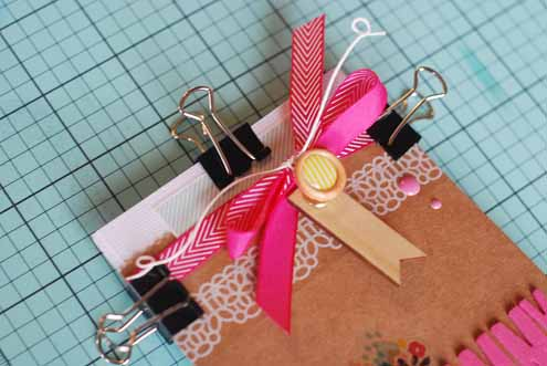 Becki Adams_Album Clamped together